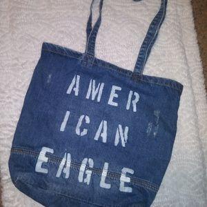 American eagle jean bag